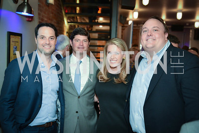 Keith Huffman, Win Huffman, Brooke Brogan, Fritz Brogan, Yellowstone Forever Young Patrons Benefit, The Hawthorne, May 4, 2017. Photo by Ben Droz