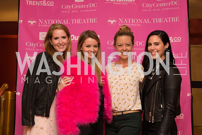 Juliet Ourisman, Stephanie Wilkes, Kate Rockwell, Candace Ourisman Young Patrons National Theatre Fundraiser November 30, 2017 Photo by Naku Mayo