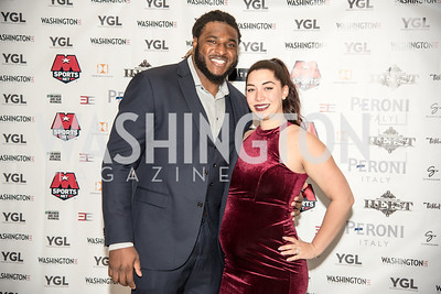 T.J. Clemmings, Christiana Clemmings, Washington Life Magazine, The Young and the Guest List, YGL, Union Station, November 10, 2017, photo by Ben Droz.