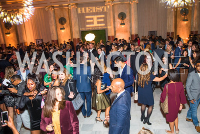 Photo by Alfredo Flores. Young & the Guest List. Presidential Suite and East Hall of Union Station. November 10, 2017.