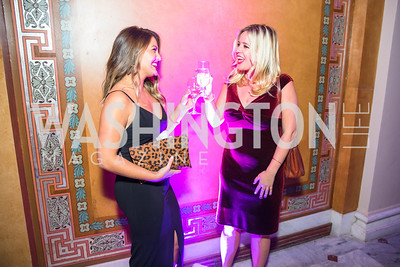 Sarah Asterbadi, Caitlin Dietze. Photo by Alfredo Flores. Young & the Guest List. Presidential Suite and East Hall of Union Station. November 10, 2017.  .dng