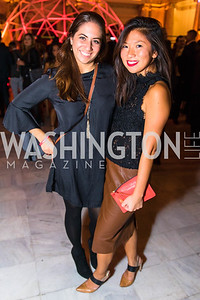 Jill Papa, Rebecca Chin. Photo by Alfredo Flores. Young & the Guest List. Presidential Suite and East Hall of Union Station. November 10, 2017.