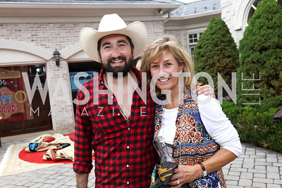 Jason Zuccari, Denise Reilly. Photo by Tony Powell. Jason Zuccari 30th Birthday Party. September 16, 2017