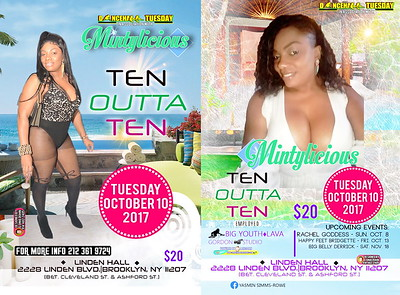 "MINTYLICIOUS ""BIRTHDAY BASH / TEN OUTTA TEN"" (15)"