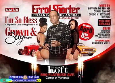 "ERROL SHORTER PRESENT HIS ANNUAL ""GROWN & SEXY AFFAIR""(10)"