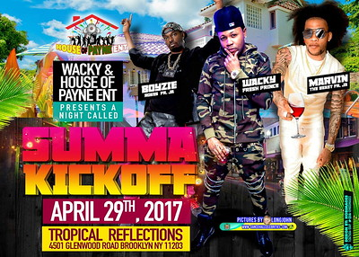 "HOUSE OF PAYNE ENT PRESENT ""SUMMA KICKOFF""(10)"