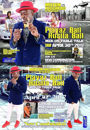 "MILTON JUGGHEAD DI MANSION ""HUSTLA / PLAYAZ BALL 2017""(15)"