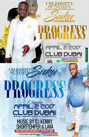 "SUKU PRESENT ""PROGRESS / CELEBRITY SUNDAY ROUND ROBIN""(150)"