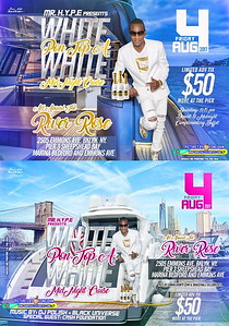 Fri. Aug. 4 (BOOKED) (BOATRIDE) GIZZY HYPE'S ALL WHITE MIDNIGHT CRUIST - SHEEPSHEAD BAY