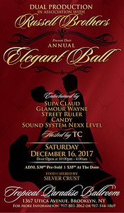 Sat. Dec. 16 (BOOKED)  (RUSSELL BROTHERS ELEGANT BALL)
