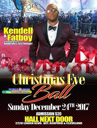 "KENDALL & FATBWOY ""CHRISTMAS EVE BALL 2018""(15)"