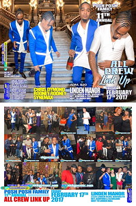 Fri. Feb. 17 (BOOKED) POSH POSH ALL CREW LINK UP