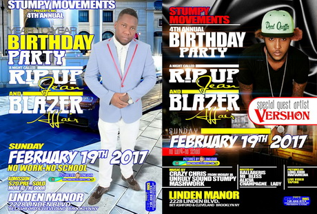 Sun. Feb. 19 (BOOKED) STUMPY MOVEMENTS RIP UP JEANS & COLOR BLAZER