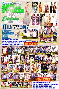 Fri. July 7 (BOOKED) (NEW VENUE) ANGELA STRIKER's BIRTHDAY PARTY