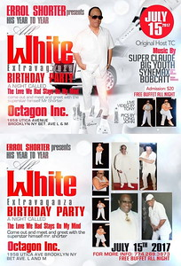 Sat. July 15 (BOOKED) ERROL SHORTER'S BIRTHDAY PARTY