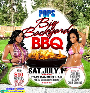 Sat. July 1 (BOOKED) (POPS BACKYARD BBQ)