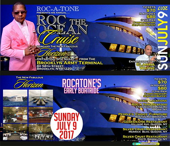 Sun. July 9 (BOOKED) ROCATONE's ROC-DA-OCEAN BOATRIDE 2017