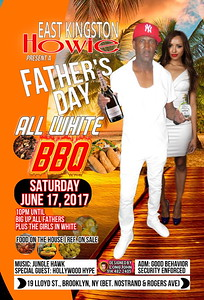 Sat. June 17 - EAST KINGSTON HOWIE FATHER'S DAY ALL WHITE BBQ