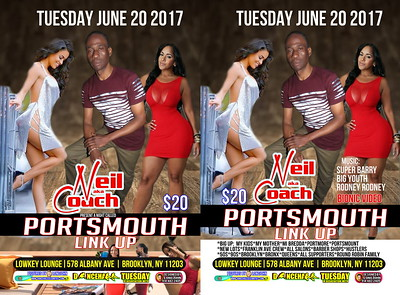 Tue. June 20 (BOOKED) COACH'S DANCEHALL TUESDAY