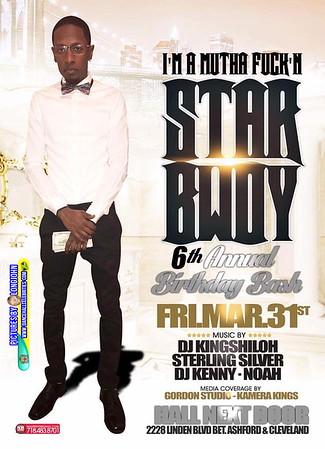 "STAR BWOY PRESENTS ""I'M A MOTHERFUKN STAR BWOY""(14)"