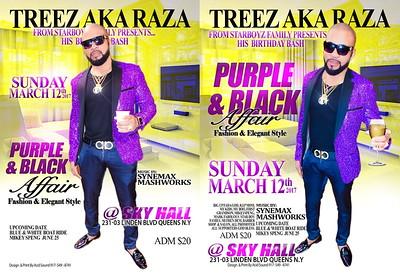 "TREEZ PRESENT HIS ANNUAL ""PURPLE & BLACK AFFAIR""(20)"