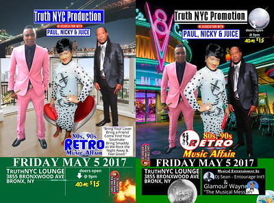 "TRUTH NYC PRODUCTION ""80's 90s RETRO MUSIC AFFAIR 2017""(12)"