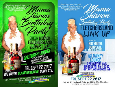 "MAMA SHARON ""FLETCHER'S LAND LINK UP 2017""(20)"