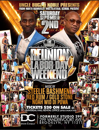 "UNCLE BUGZ ANDRE NOBLE  ""REUNION LABOR DAY WEEKEND""(15)"