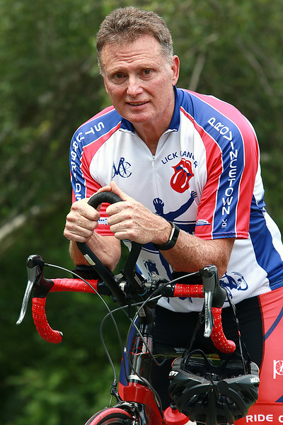 Bill Fellows of Leominster will be taking part in this years Pan-Mass Challenge. SENTINEL & ENTERPRISE/JOHN LOVE