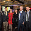 David, Jim and Amy Wombwell, Beth Keyes, Mayor Greg Fischer and Mike Keyes.