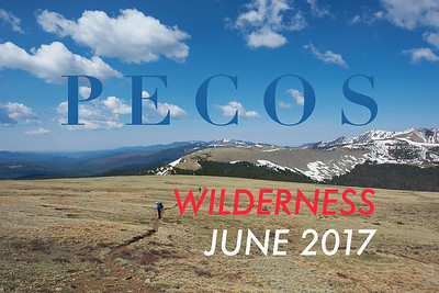 2017 Pecos Wilderness