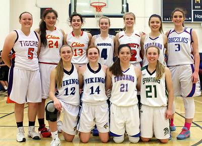 2017 Phil Bryant Girls  North Section All Star Basketball