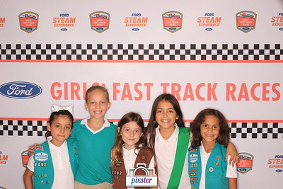 Girls' Fast Track Races Fall 2017