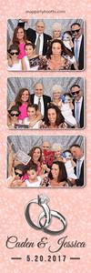Caden Kopp & Jessica Hawkins Wedding 2017