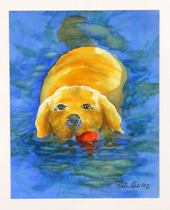 IMG_7924 My Red Ball,,by Kate Reeves,,watercolor