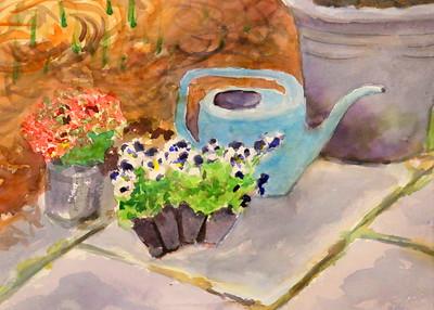 IMG_7959 Ready to Plant,,,by jennifer Dembinski,,watercolor