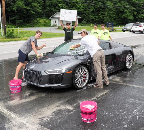 WUHS Boys Soccer Car Wash