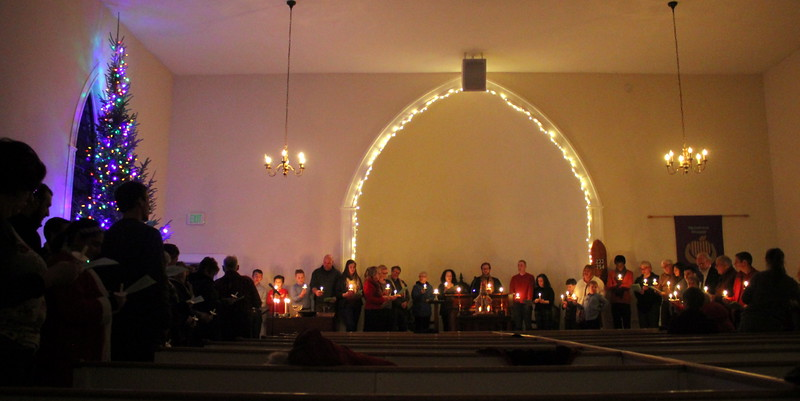 Candlelight Service at Hartland UU Church