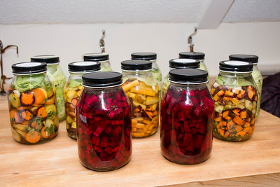 Fermenting Vegetables Cooking Class
