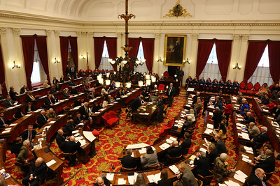 PHOTO BY HERB SWANSON:  House of Representatives  on the first day of the 2017 Legislative session at the State House in Montpelier, Vermont on January 4, 2017