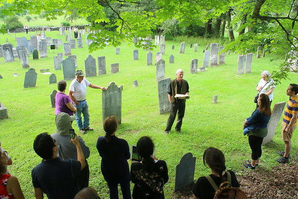 Cemetery Tour, Woodstock History Center 2017
