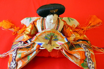 IMG_5343 a Hina doll,,,,,hina dolls are passed down grandparents to the first granddaughter