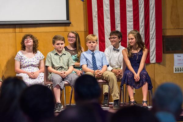 Prosper Valley School 6th Graders Promotion