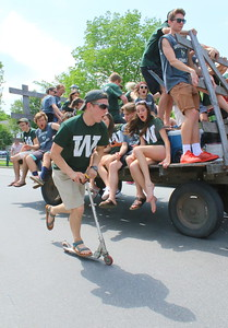 IMG_9099 class of 17,,jolted by tractor,,alden krawczyk on scooter