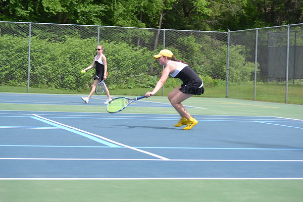WUHS Girls Tennis Championship Win, 2017