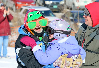 IMG_2531 pete sigle , who works at S6, hugs lilia hansen after her ski run