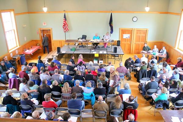 Barnard Town Meeting, 2017