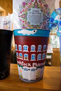 Woodstock Painted Maple Sap Buckets