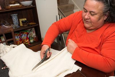 Wanda Huff Upcycled Sweaters