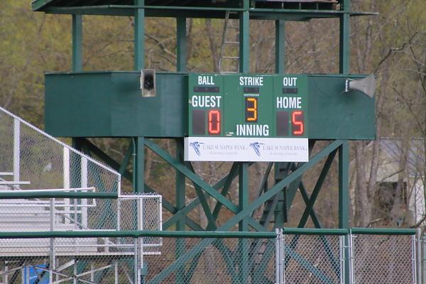 WUHS Baseball vs Twin Valley, 2017